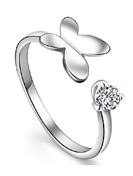 kiki 925 mode coréenne un anneau de papillon