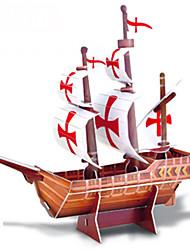 brinquedos DIY mão para segurar o navio pirata