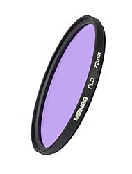 MENGS® 72mm FLD Fluorescent Filter For Canon Sony Nikon Fuji Pentax Olympus Etc DSLR Camera
