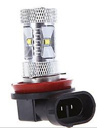 30W H11 Lampe de Décoration 6LED LED Haute Puissance 1200 lm Blanc Froid DC 12 / DC 24 V 1 pièce