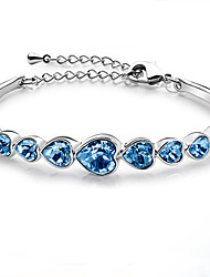 Cute / Casual Alloy / Gemstone & Crystal Cuff Bracelet