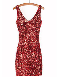 Dresses&Skirts Women's Sequined Sequins