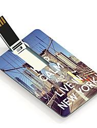 32gb сохранять спокойствие и жить в Нью-Йорке дизайна карты USB флэш-диск