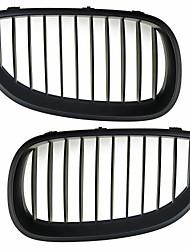 Matte Black Grille Grill Kidney For BMW E60 E61 5 Series M5 03-09