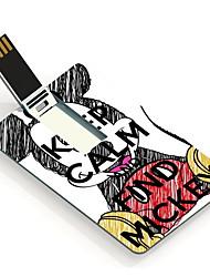 8GB Keep Calm and Find Mickey Design Card USB Flash Drive
