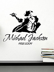 Wall Stickers Wall Decals, Michael Jackson PVC Wall Stickers