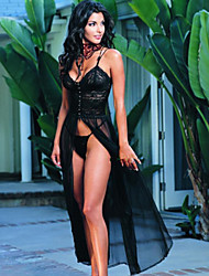 Women Uniforms & Cheongsams / Gartered Lingerie / Ultra Sexy Nightwear , Velvet / Core Spun Yarn / Cashmere / Lace