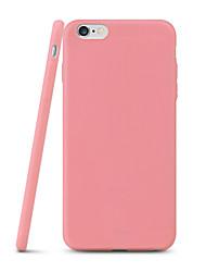 Pour Coque iPhone 7 / Coques iPhone 7 Plus / Coque iPhone 6 / Coques iPhone 6 Plus Ultrafine Coque Coque Arrière Coque Couleur Pleine
