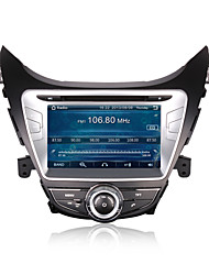 CUSP® 8 Inch 2Din Car DVD Player for HYUNDAI ELANTRA/AVANTE /I35 2011-2013 Support GPS,BT,RDS,Game,iPod