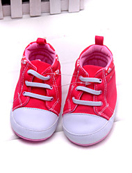 Baby Shoes Dress/Casual Synthetic/Cotton Fashion Sneakers Red