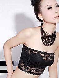 Women's Modal Lace Strapless Unpadded Top Bra
