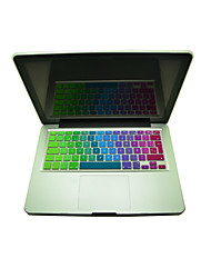 "Coosbo® Colorful Spanish Silicone Keyboard Cover Skin EU Layout for  13.3""/15.4""/17"" Mac Macbook Air Pro/Retina"
