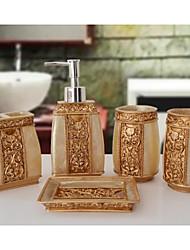 The Roman Empire Pattern Bathroom Ware 5 Sets