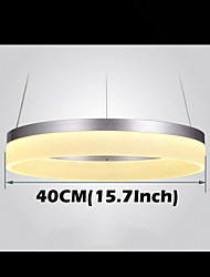 Round LED Pendant Light Modern Acrylic Lamps Lighting Luxurious Single Ring D40CM Ceiling Lights Fixtures