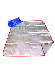 Tripolar,Multifunctional Aluminum foil Moisture-proof pad/Tent Moisture-proof pad/Beach mat/Picnic rug#FA1131X