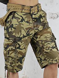 Men's Casual Striped Shorts Pants (Organic Cotton)