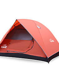 Hewolf Moistureproof Waterproof Polyester One Room Tent 1536 Red