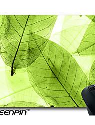 seenpin персонализированные коврики для мыши листьев макроса абстрактный дизайн
