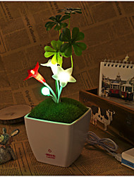 Clover Flowers Are Usb5V Strange New Power with Touch Switch Dimmable LED Nightlight(DC5V)