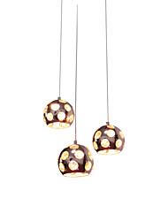 Metal - Lámparas Colgantes - Cristal - Moderno / Contemporáneo
