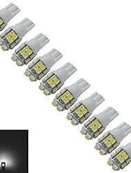 1.5W T10 Декоративное освещение 20 SMD 3528 85lm lm Холодный белый DC 12 V 10 шт.