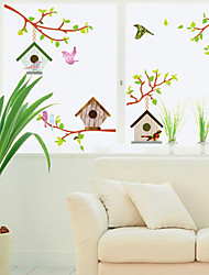 Wall Stickers Wall Decals, Bird's Nest PVC Wall Stickers