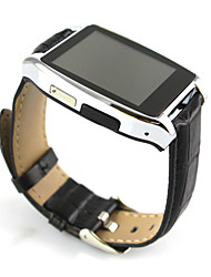D6 Wearable Smartwatch, Hands-Free Calls/Pedometer/ for Android/iOS Smartphone