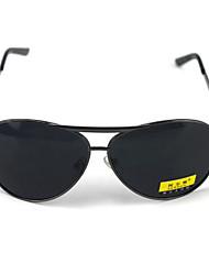 Sunglasses Men's Classic / Retro/Vintage / Polarized Oversized Black Sunglasses