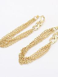 Earring Stud Earrings Jewelry Women Alloy 1set Gold