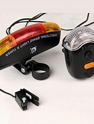 Mountain Bike / Fixed Gear Bike Overige Plastic LED-licht Zwart