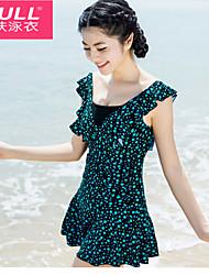 Woman fashion sexy swimsuit Polka Dot Dress