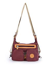 Women Canvas Shoulder Bag for Grils Backpack CrossBody Rucksack