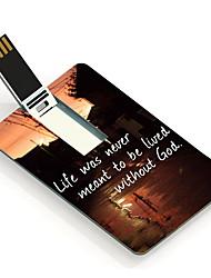 Vida 16gb é com drive flash USB Cartão do projeto deus
