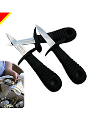 Dedicated Shellfish Meat Cutter Knife Open Tools / Oyster Knife / Seafood Processing Knives