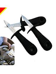 посвященный моллюсков мясо ножом и открытые инструменты / устрица нож / ножи для обработки морепродуктов