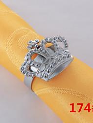 6Pcs Crown Napkin Ring