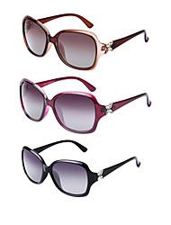 3 PCS LianSan 100% UV400 Women's Oversized Sunglasses