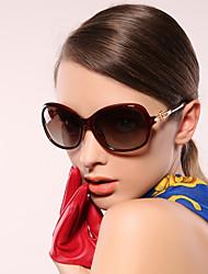100% UV400 Women's Oversized Fashion Sunglasses