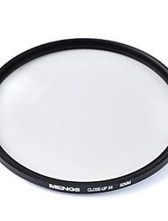 mengs® 82mm Nahaufnahme x4-Filter mit Aluminiumrahmen für DSLR-Kamera