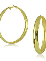 Damen Ohrring Edelstahl/Legierung Hoop Ohrringe