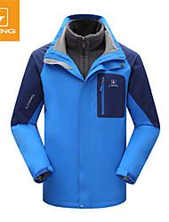 Tops/Chaquetas de Ski/Snowboard/Paravientos/Chaquetas 3-en-1/Chaquetas de Lana/Jerseyes/Personalizada ( Verde/Rojo/Azul/Verde Militar ) -