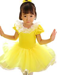 Vestidos (Amarillo , Chinlon/Nylón/Tul , Ballet) - Ballet - para Niños