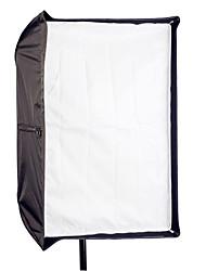 "80 x 120cm/31""47"" Photo Studio Umbrella Rectangle Softbox Dual-Use For SpeedLight Flash"