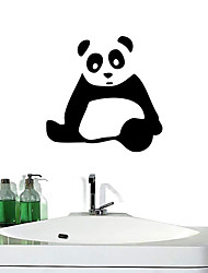 Wall Stickers Wall Decals, Giant Panda Bathroom Decor Mural PVC Wall Stickers