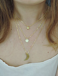 Women's Fashion Beautiful Vintage/Party/Casual Alloy Layered