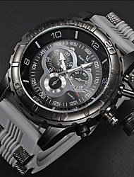 Men's fashion big dial quartz movement watches