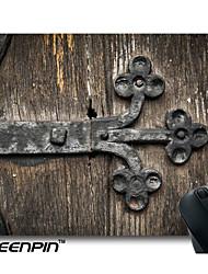 tapis de souris personnalisé seenpin porte de l'église conception en bois