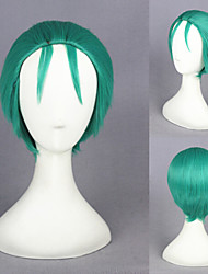12inch One Piece-Roronoa Zoro(2years later) Green Cosplay Wigs