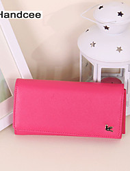 Handcee® Woman PU Elegance Purse The Most Fashion Lady Wallet