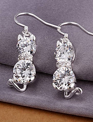 THE ONE  Fashion 925 silver jewelry sales exquisite Earrings